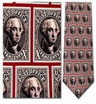 Tie ‑ U.S. 10‑Cent George Washington Image