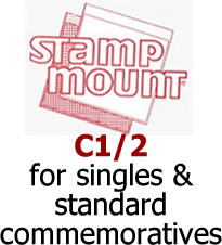 Stamp Mounts C1/2 ‑ Qty. 100 Image