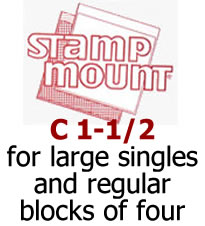 Stamp Mounts C1‑1/2 ‑ Qty. 100 Image