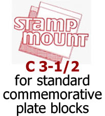Stamp Mounts C3‑1/2 ‑ Qty. 100 Image